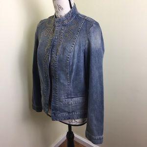 Chico's Jackets & Coats - Chico's Women's size 0 4 Small Jean Jacket